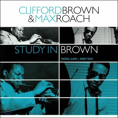Clifford Brown & Max Roach (클리포드 브라운 & 맥스 로치) - Study in Brown [LP]
