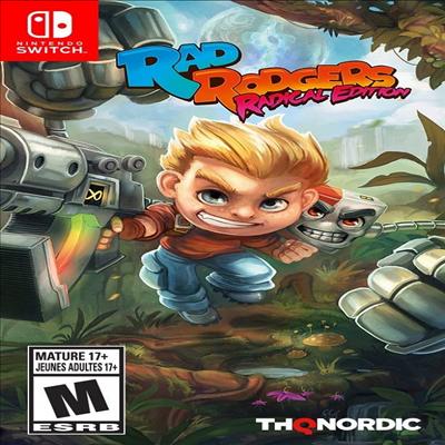 레이드 로저스 (Rad Rogers) (Nintendo Switch)(영문반)