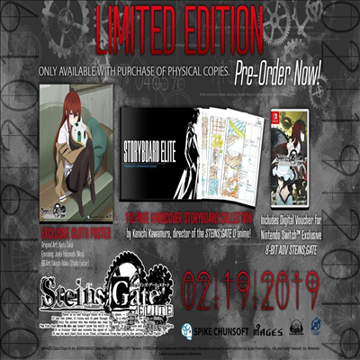 슈타인즈 게이트 (Steins : Gate Elite) (Limited Edition)(Nintendo Switch)(영문반)