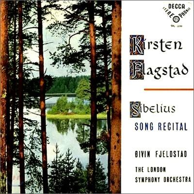 Kirsten Flagstad 시벨리우스: 노래집 (Sibelius: Song Recital) 키르슈텐 플라그슈타트