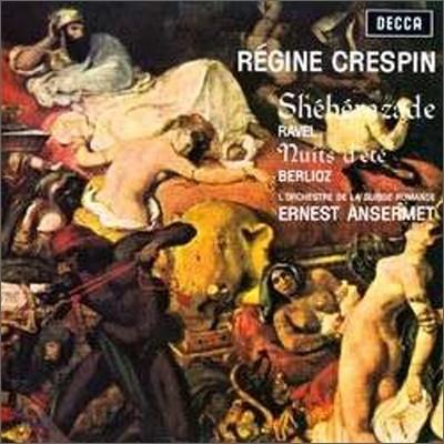 Regine Crespin / Ernest Ansermet 라벨 : 세헤라자드 / 베를리오즈: 여름 밤 (Ravel: Sheheraad / Berlioz : Nuits d'ete)