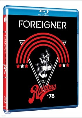 Foreigner (포리너) - Live At The Rainbow '78 [블루레이]