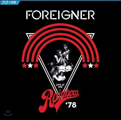 Foreigner (포리너) - Live At The Rainbow '78 [CD+Blu-ray]