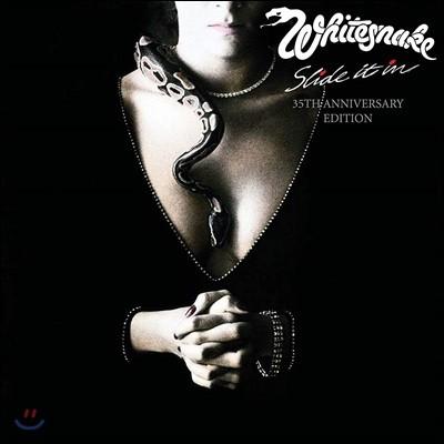 Whitesnake - Slide It In 화이트스네이크 7집 발매 35주년 기념반 [6CD+DVD 박스 세트]