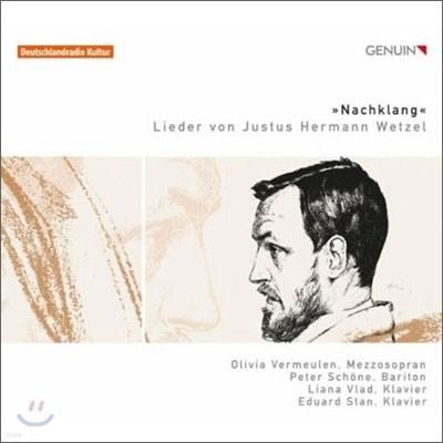 유스투스 헤르만 베첼: 가곡집 (Nachtlang: Lieder by Justus Hermann Wetzel)