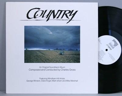 [중고 LP] Country (OST) - George Winston, Windham Hill Artists