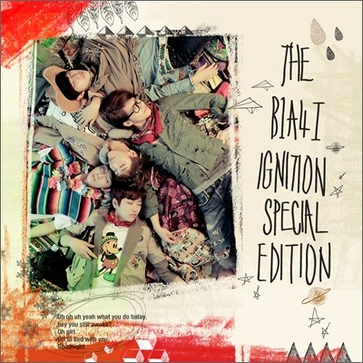 B1A4 1집 - Ignition [Special Edition]