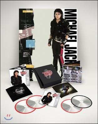 Michael Jackson - Bad [발매 25주년 디럭스 에디션 / 3CD+1DVD 수입 한정반]