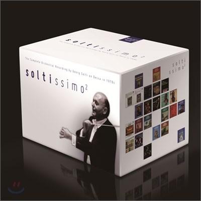 솔티시모 2 : 게오르그 솔티 탄생 100주년 기념 특별 에디션 (Soltissimo 2) [53CD+5DVD]