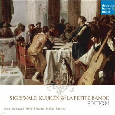 Sigiswald Kuijken Edition 지기스발트 쿠이켄 에디션 (and La Petite Bande) 10CD