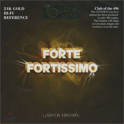 정명훈 / Salvatore Accardo / I Musici 포네 클래식 고음질 레코딩 골드 샘플러 CD - 포르테 포르티시모 (Forte Fortissimo)
