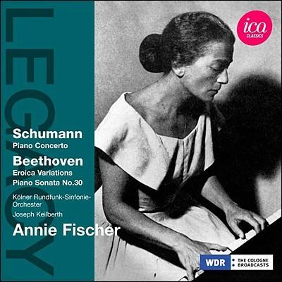 Annie Fischer 슈만: 피아노 협주곡 / 베토벤: 소나타 30번, 에로이카 변주곡 - 아니 피셔 (Schumann: Piano Concerto in A minor, Op. 54 / Beethoven: Piano Sonata No. 30)