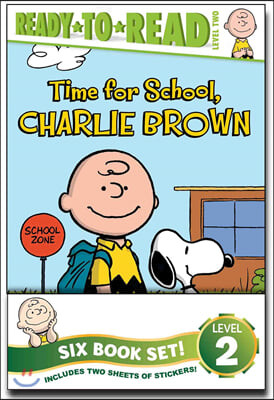 Peanuts Ready-To-Read Value Pack: Time for School, Charlie Brown; Make a Trade, Charlie Brown!; Lucy Knows Best; Linus Gets Glasses; Snoopy and Woodst