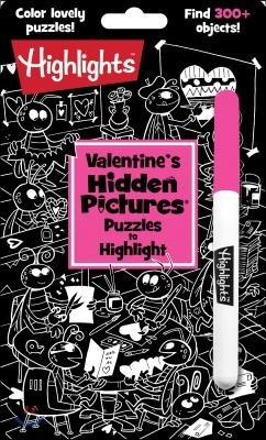 Valentine's Hidden Pictures: Puzzles to Highlight