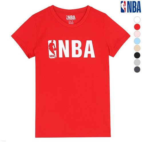 [NBA]NBA BASIC LOGO SHORT TS (N162TS951P)