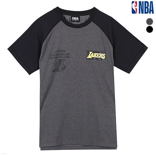 [NBA]LAL LAKERS POLY RAGLAN SHORT TS (N162TS335P)