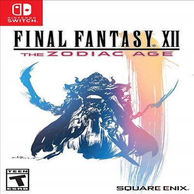 파이널 판타지 12 더 조디악 에이지 (Final Fantasy XII : The Zodiac Age) (Nintendo Switch)(영문반)