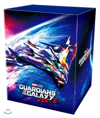 가디언즈 오브 갤럭시 VOL.2 (원클릭 박스 스틸북 한정판) : 블루레이