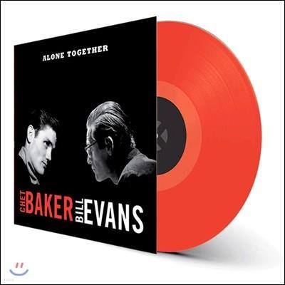 Chet Baker & Bill Evans (쳇 베이커, 빌 에반스) - Alone Together [레드 컬러 LP]