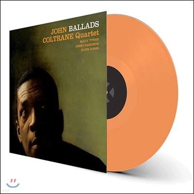 John Coltrane (존 콜트레인) - Ballads [오렌지 컬러 LP]