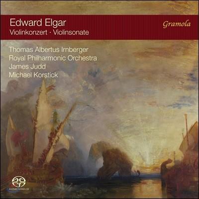 Thomas Albertus Irnberger 엘가: 바이올린 협주곡, 바이올린 소나타 (Elgar: Violin Concerto, Violin Sonata)