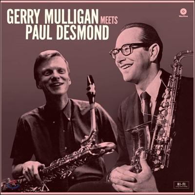 Gerry Mulligan (게리 멀리건) - Meets Paul Desmond [LP]