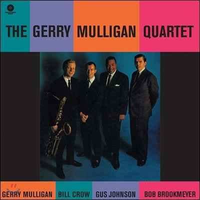 Gerry Mulligan (게리 멀리건) - The Gerry Mulligan Quartet [LP]
