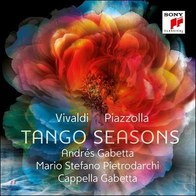 Andres Gabetta 비발디: 사계 / 피아졸라: 부에노스 아이레스의 사계 (Tango Seasons)