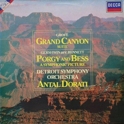 Antal Dorati / Grofe : Grand Canyon Suite & Gershwin : Porgy And Bess (DD0945)
