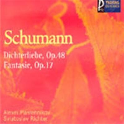 [미개봉]Nikolai Petrov, Sviatoslav Richter / Schumann : Dichterliebe, Fantasie (YCC0150)