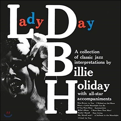 Billie Holiday (빌리 홀리데이) - Lady Day [LP]