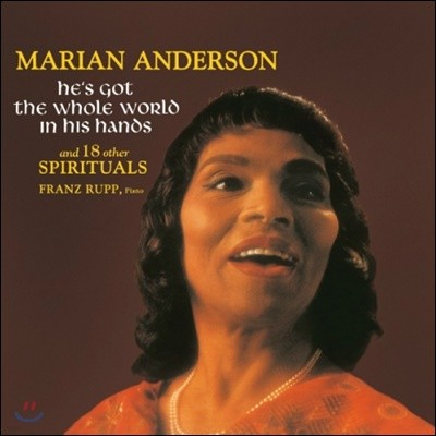 Marian Anderson (마리안 앤더슨) - He's Got The Whole World In His Hands And 18 Other Spirituals [LP]