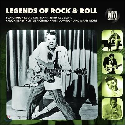 록큰롤 명곡 모음집 (Legends Of Rock & Roll) [LP]