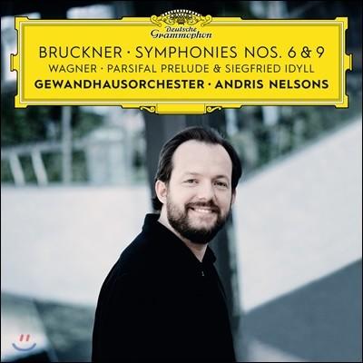 Andris Nelsons 브루크너: 교향곡 6, 9번 / 바그너: 지그프리트 목가, 파르지팔 전주곡 (Bruckner: Symphony WAB106, 109 / Wagner: Siegfried Idyll, Parsifal Prelude)