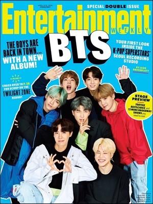 Entertainment Weekly : BTS Poster : 엔터테인먼트 위클리 방탄소년단 커버 포스터 (접지/지관통 미포함)(잡지 별매)