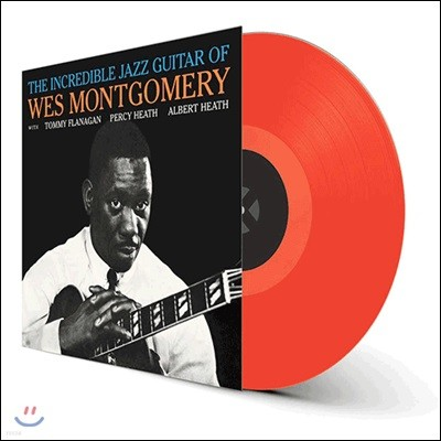 Wes Montgomery (웨스 몽고메리) - The Incredible Jazz Guitar Of Wes Montgomery [레드 컬러 LP]