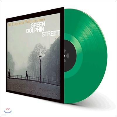 Bill Evans (빌 에반스) - Green Dolphin Street [그린 컬러 LP]