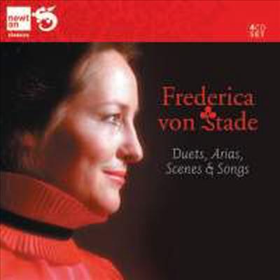 프레데리카 폰 슈타데: 듀엣, 아리아, 가곡들 (Frederica von Stade: Duets, Arias, Scenes & Songs) (4CD) (Box Set) - Frederica von Stade
