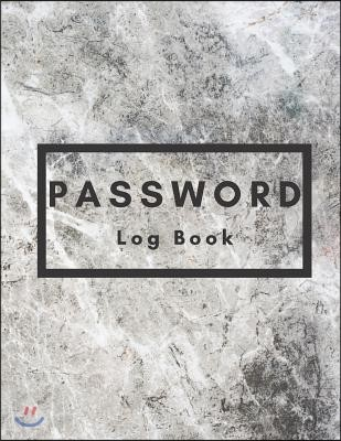 Personal Internet Address & Password Log Book Notes Jotter Blanked Lined Writing Journal: Password Logbook a Premium Journal to Protect Usernames and