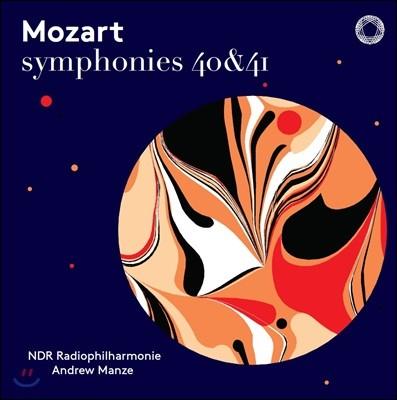 Andrew Manze 모차르트: 교향곡 40, 41번 (Mozart: Symphonies K550, K551)