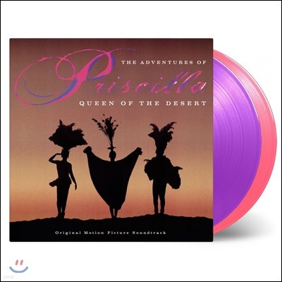 프리실라 영화음악 (The Adventures Of Priscilla: Queen Of The Desert OST) [핑크 & 퍼플 컬러 2LP]