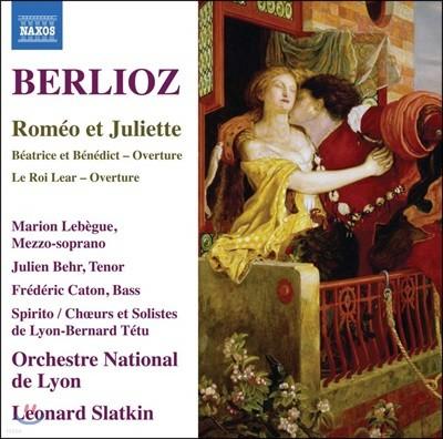 Marion Lebegue 베를리오즈: 로미오와 줄리엣, 베아트리체와 베네딕트 서곡, 리어왕 서곡 (Berlioz: Romeo et Juliette, Op. 17, H 79)