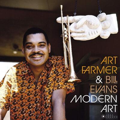 Art Farmer & Bill Evans (아트 파머 & 빌 에반스) - Modern Art [LP]