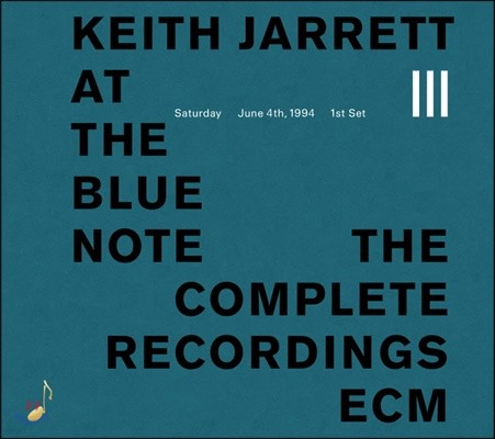 Keith Jarrett (키스 자렛) - At The Blue Note, 3rd CD