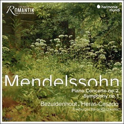 Kristian Bezuidenhout 멘델스존: 교향곡 1번, 피아노 협주곡 2번 (Mendelssohn: Piano Concerto Op 40, Symphony Op. 11)