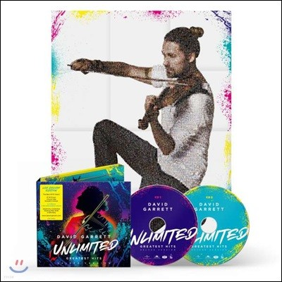 David Garrett - Unlimited: Greatest Hits 데이빗 가렛 베스트 앨범 [2CD 디럭스 에디션]