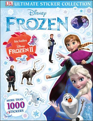 Disney Frozen Ultimate Sticker Collection 디즈니 겨울왕국 얼티밋 스티커북 (겨울왕국 2 포함 / 스티커 1000개)