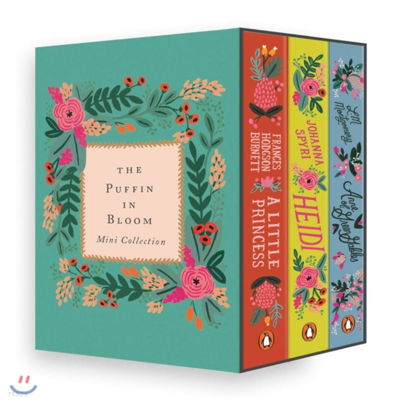The Puffin in Bloom Mini Collection : 퍼핀 인 블룸 3종 미니 세트