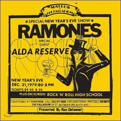 Ramones (라몬즈) - Live at The Palladium, New York 12/31/79  [2LP]