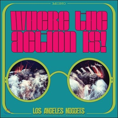 1960년대 언더그라운드 록 모음집 (Where The Action Is! Los Angeles Nuggets 1965-1968) [2LP]